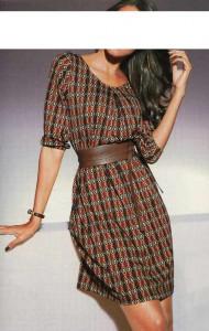 Designer-Kleid
