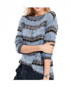 Flausch-Pullover